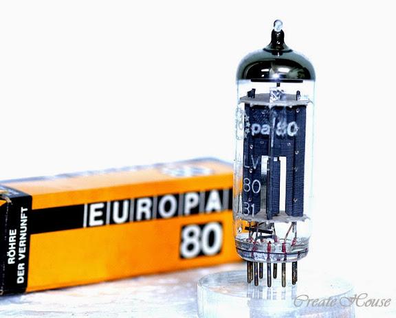 EZ80 Europa 80 full wave ractifier